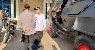 Kendaraan Baracuda Disiapkan Pengamanan PSU Kab.Morut