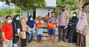 Longki Sumbang 500 Sembako Ramadhan Di Desa Kalora