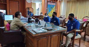 Kepala LPP TVRI Temui Gubernur Sulteng