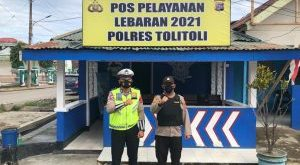 Polres Tolitoli Dirikan Pos Keamanan Lebaran Di Berbagai Titik Tertentu