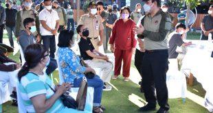Dukung Pencegahan Covid-19, BNPT Pusat Berikan Vaksin Gratis Di Kab.Poso Dan Tentena