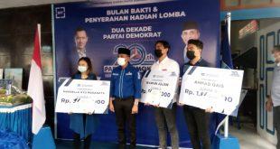 Ketua DPD Partai Demokrat Sulawesi Tengah Hadiri Langsung HUT Dua Dekade Partai Demokrat