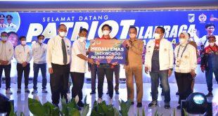 Atlet Sulteng Tiba di Palu, Gubernur Sulteng Tepati Janji Beri Hadiah Jutaan Rupiah Peraih Medali
