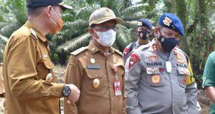 Wagub Sulteng Bersama Kapolda Tinjau TPS Di Kodal