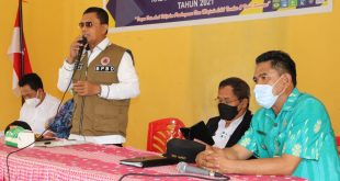 Wagub Sulteng ; PT. KNK Harus Hentikan Aktifitas Tambang Di Kec. Bolano Lambunu